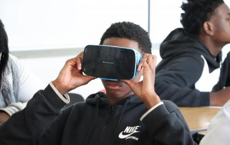 Virtual reality allows student to explore biomes without leaving the classroom