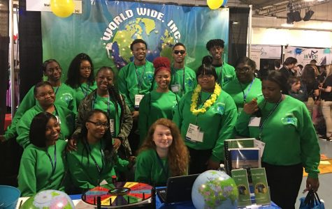 Virtual Enterprise students take honors at trade show